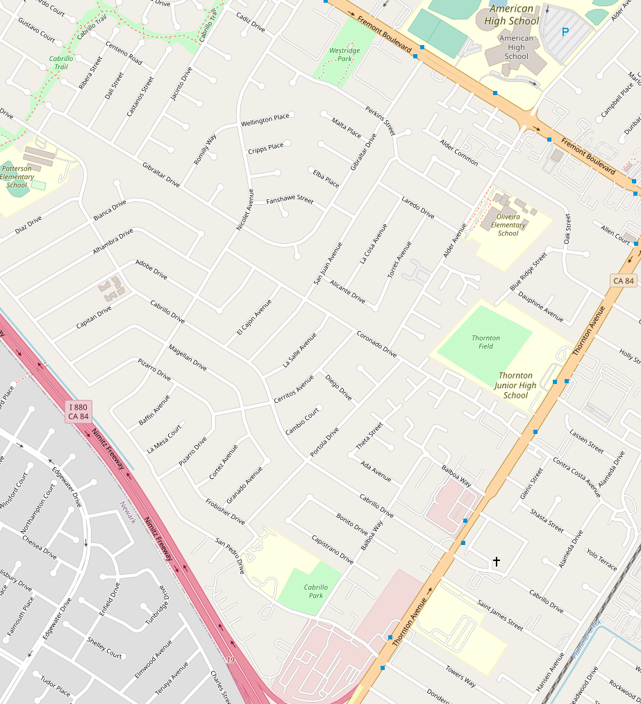 OSM.org map